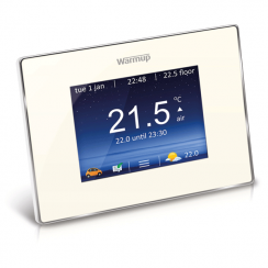WarmUp 4iE Smart WiFi Thermostat White