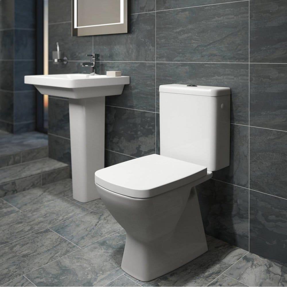 Black Glazed 30cm x 60cm Porcelain Wall & Floor Tile
