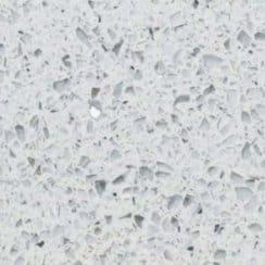 White Quartz 30cm X 30cm Wall & Floor Tile