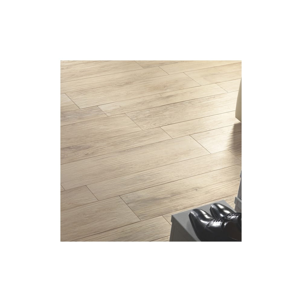 Tumbled Noce Stone Effect Travertine Wall Tile Pack Of 15: Xilema Larice 20cm X 80cm Wall & Floor Tile
